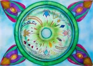 Mandala. Générer l'appel à soi.